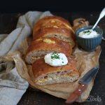 Handbrot mit Speck und Käse   Bake to the roots