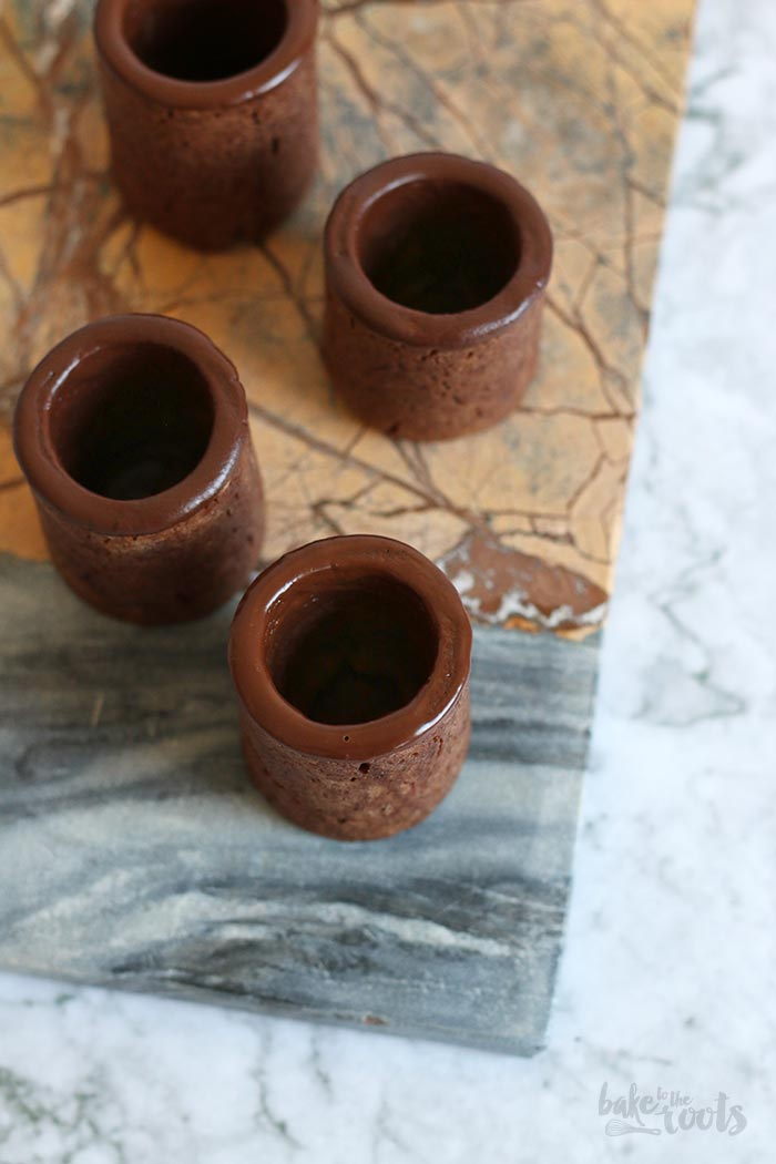 Chocolate Cookie Shots | Bake to the roots