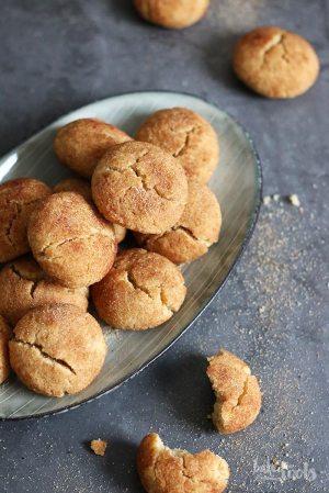 Keto Snickerdoodles (low-carb & glutenfrei)