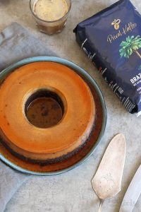 Chocolate Coffee Flan Cake   Bake to the roots