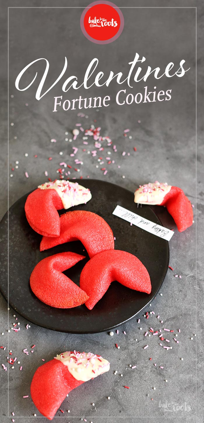 Valentines Fortune Cookies | Bake to the roots