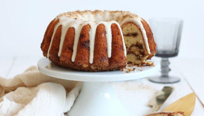 Cinnamon Swirl Bundt Cake | Bake to the roots