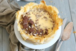Baklava Cheesecake | Bake to the roots