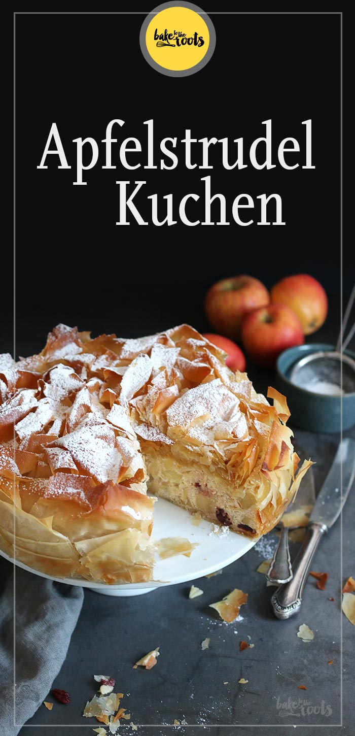 Apfelstrudel Kuchen | Bake to the roots