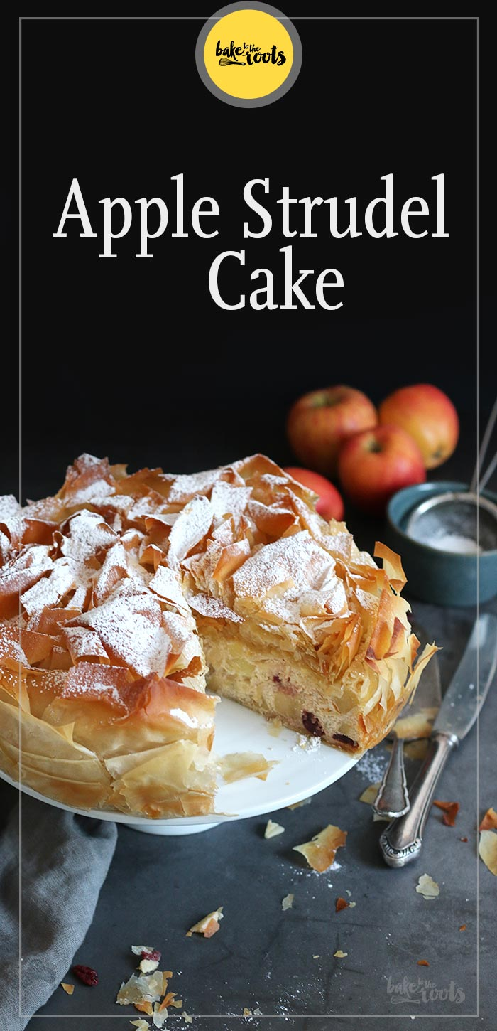 Apple Strudel Cake | Bake to the roots