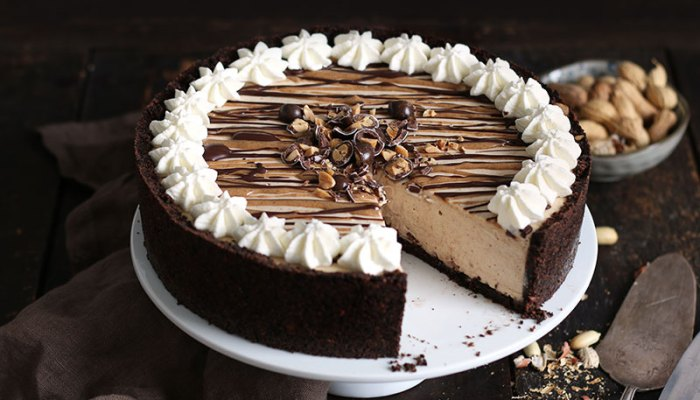 No-Bake Peanut Butter Cheesecake   Bake to the roots