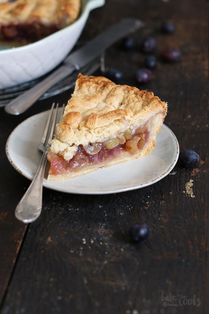 Grape Pie | Bake to the roots
