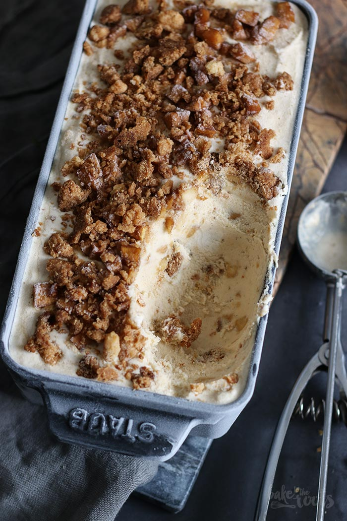 Apple Pie Ice Cream | Bake to the roots