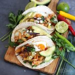 Breakfast Tacos with Chicken |. Bake to the roots