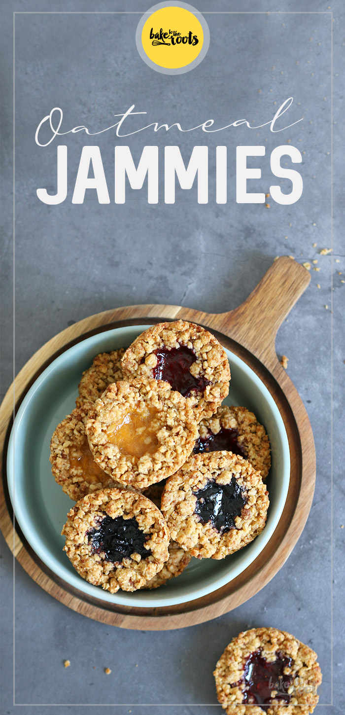 Oatmeal Jammies | Bake to the roots