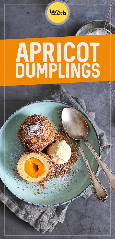 Sweet Apricot Dumplings (Marillenknödel) | Bake to the roots