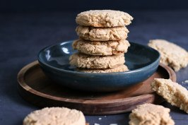 Easy Almond Cookies (gluten-free) | Bake to the roots