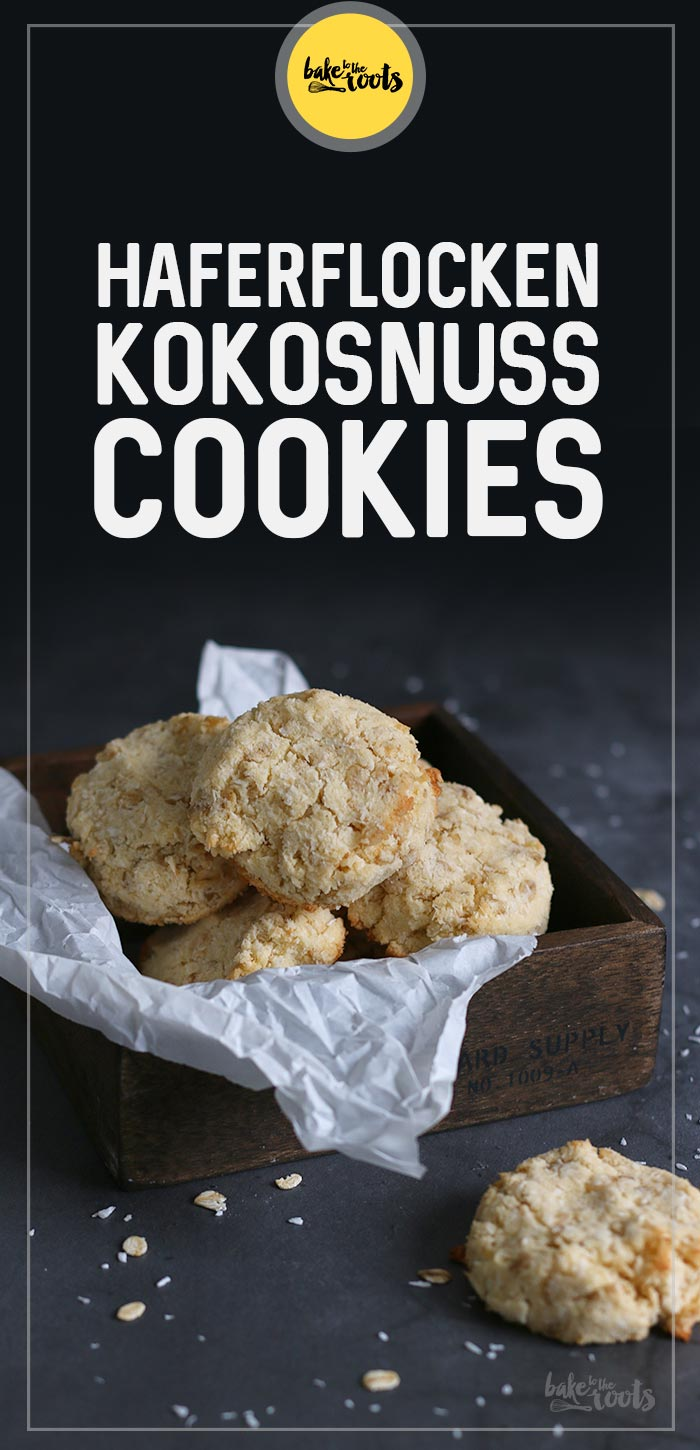 Haferflocken Kokosnuss Cookies (glutenfrei & zuckerfrei) | Bake to the roots