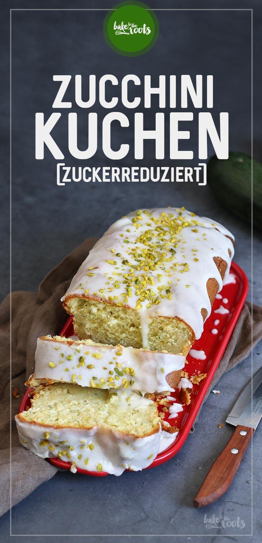 Zucchini Kuchen (zuckerreduziert) | Bake to the roots