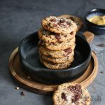 Miso Pecan Chocolate Chip Cookies | Bake to the roots