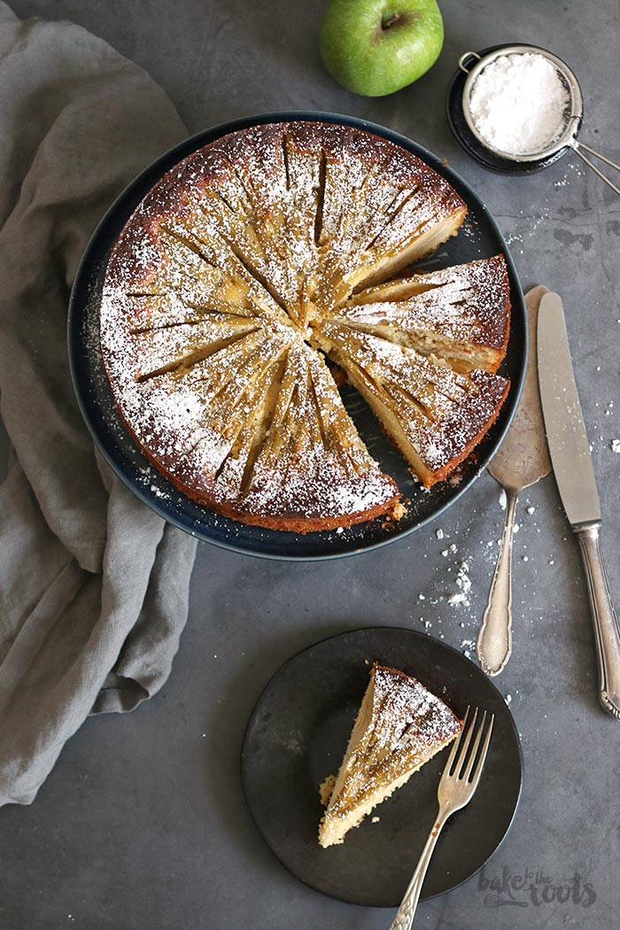 Low-Carb Apfelkuchen | Bake to the roots