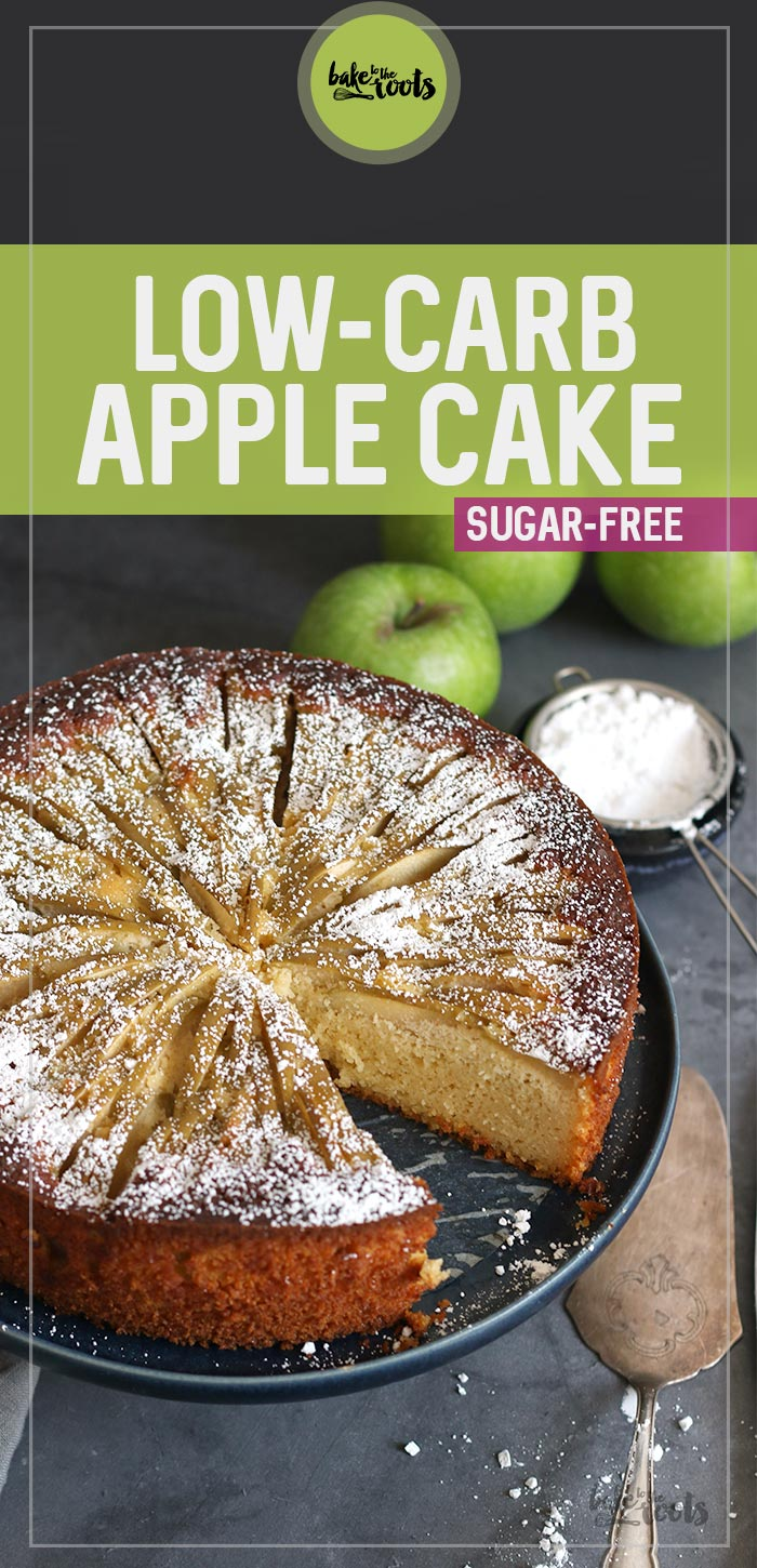 Low-Carb Apple Cake (sugar-free) | Bake to the roots