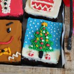 Xmas Brownie Cakes | Bake to the roots