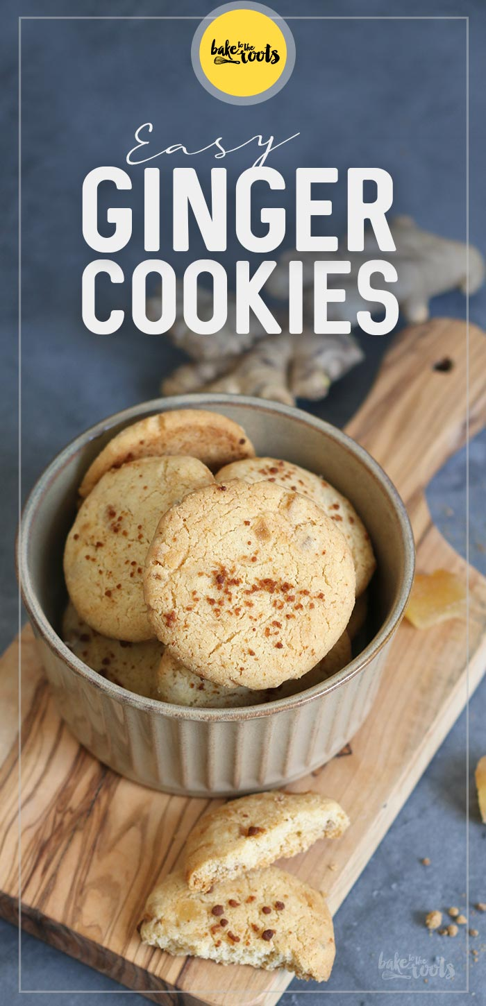 Easy Ginger Cookies | Bake to the roots