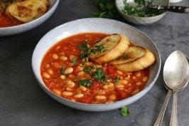 Vegan White Bean Stew | Bake to the roots