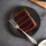 Vegan Chocolate Bomb Cake | Bake to the roots