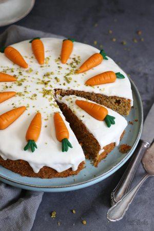 Swiss Carrot Cake aka. Rüblikuchen