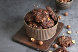 Double Chocolate Maltesers Cookies | Bake to the roots