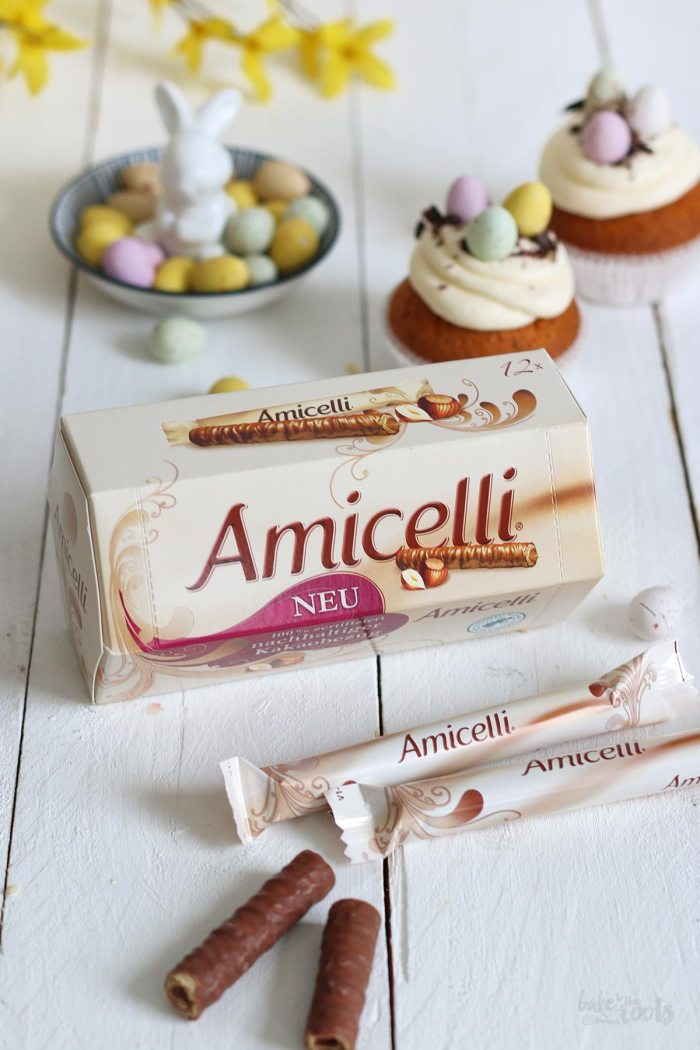 Haselnuss Eierlikörtorte mit Amicelli | Bake to the roots