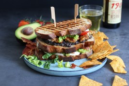 Tex-Mex Chicken Club Sandwich | Bake to the roots