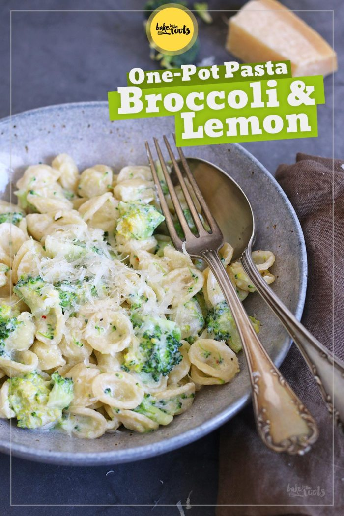 One-Pot Pasta with Creamy Ricotta Lemon Sauce and Broccoli | Bake to the roots