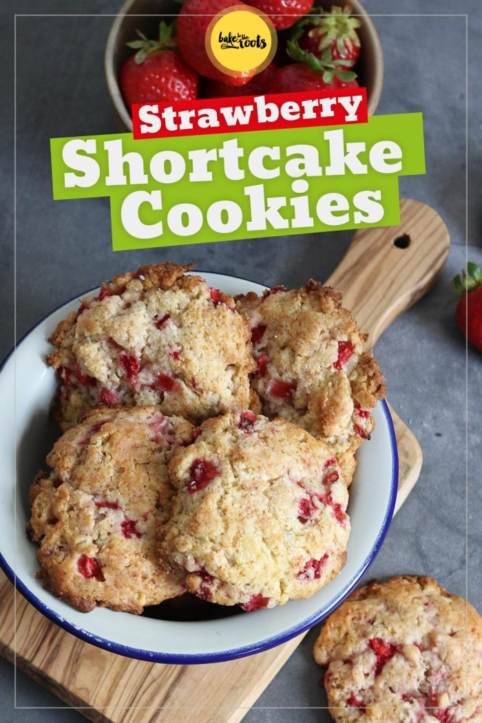 Strawberry Shortcake Cookies | Bake to the roots