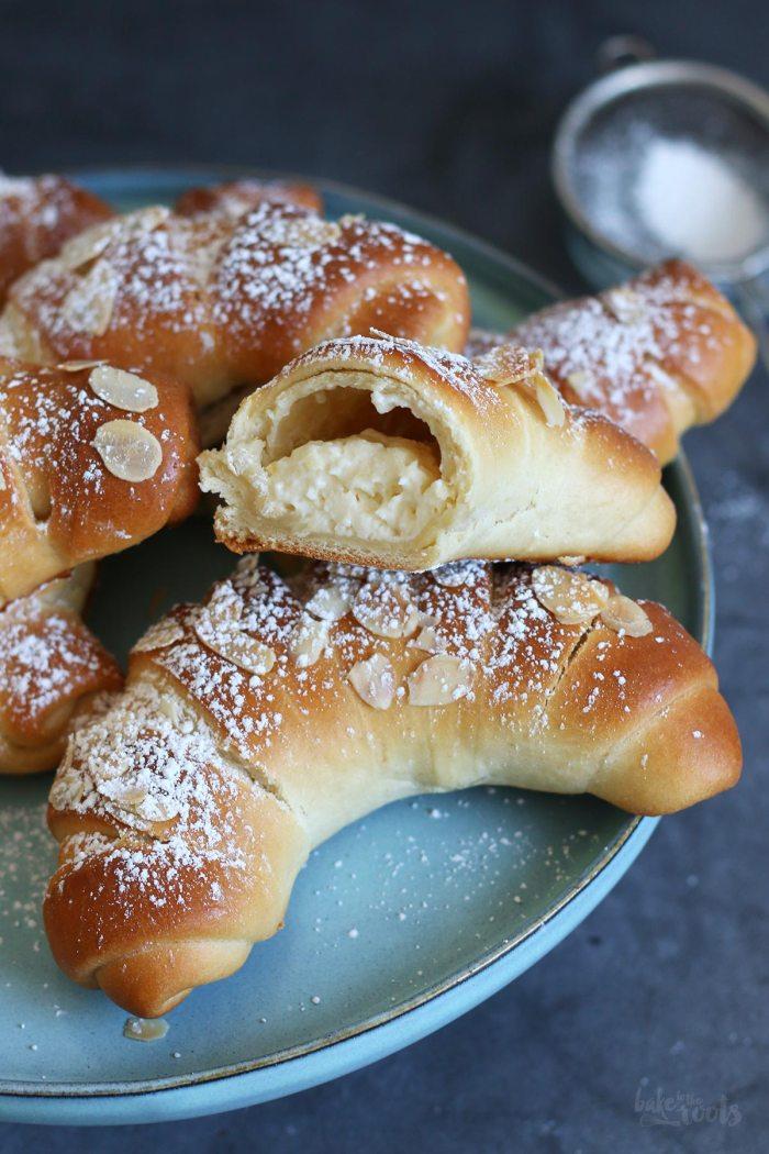 Einfache Vanillehörnchen | Bake to the roots