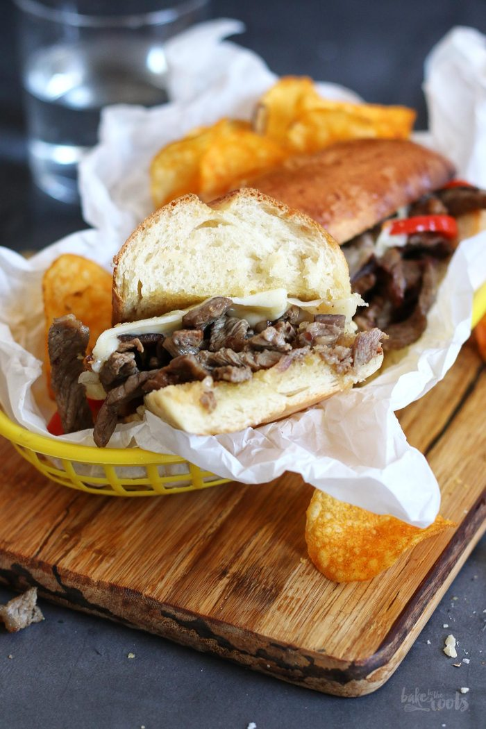Philly Cheesesteak Sandwiches | Bake to the roots