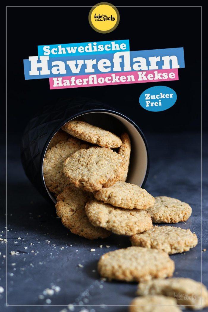 Schwedische Havreflarn (Haferkekse) Zuckerfrei   Bake to the roots