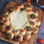 Partybrot mit Ofenkäse zum Dippen   Bake to the roots