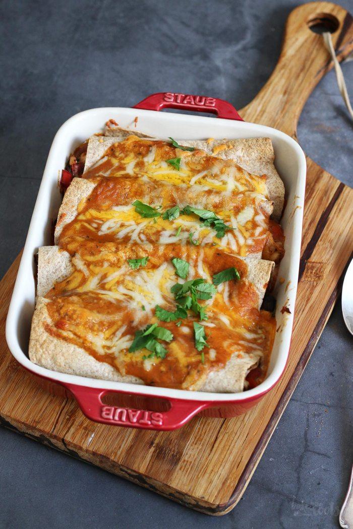 Chicken Enchiladas | Bake to the roots