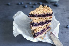 Blueberry Streusel Bars | Bake to the roots