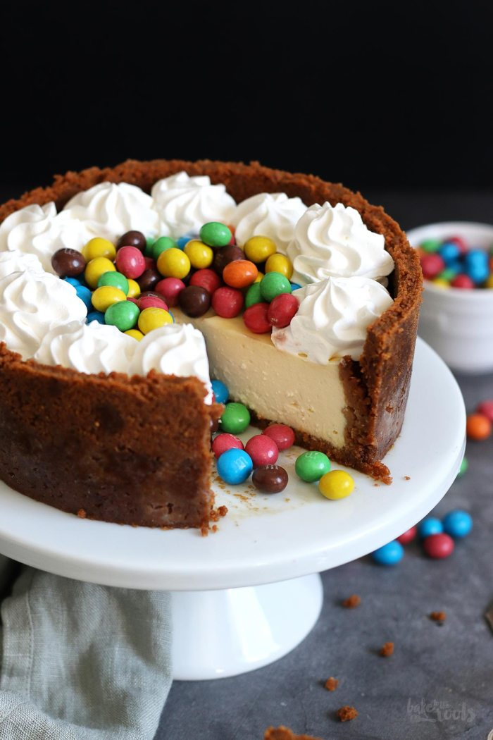 Mini Cheesecake mit M&M's | Bake to the roots