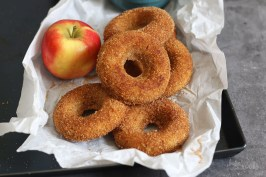 Baked Apple Cider Donuts | Bake to the roots
