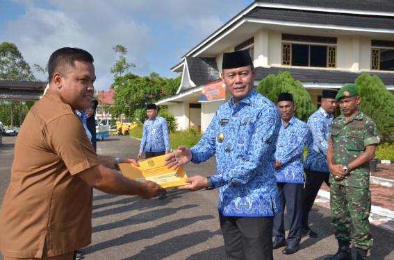 Penyerahan DPA 2020 Kecamatan Rimbo Bujang