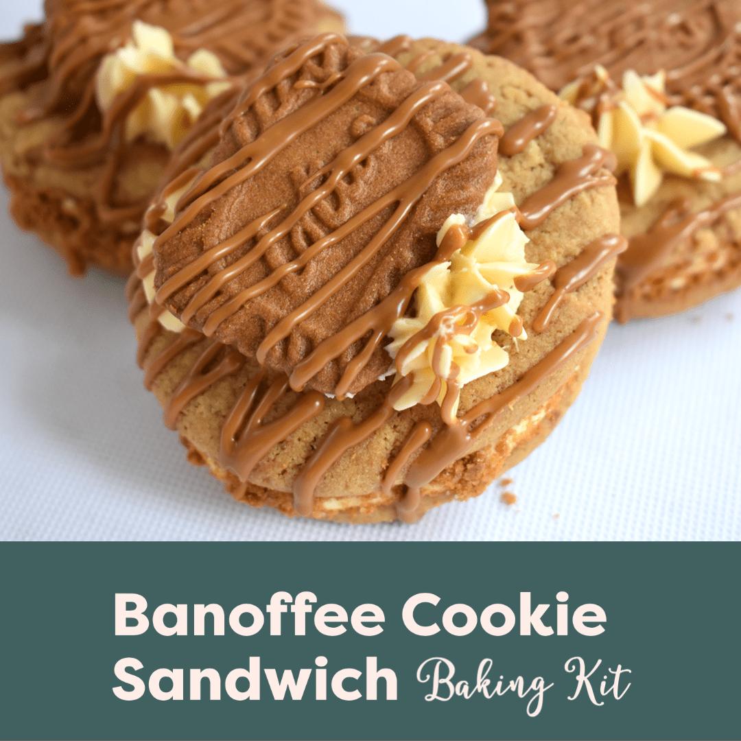 Banoffee Biscoff Cookie Sandwich Baking Kit