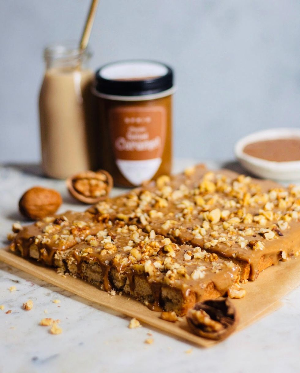 salted caramel bars