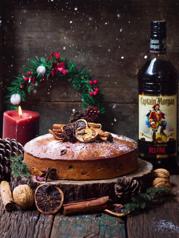 rum cake christmas