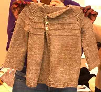 Peanut Warmer Sweater