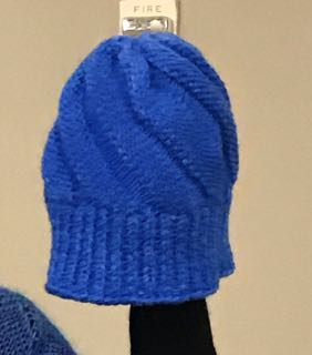 Flat Knit Swirt Hat
