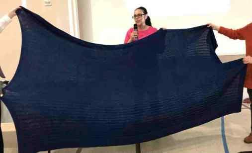 Garter Rib Baby Blanket