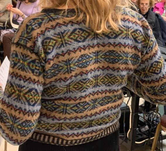 The Dutch Knitters Shetland Cardigan (Self-Designed)