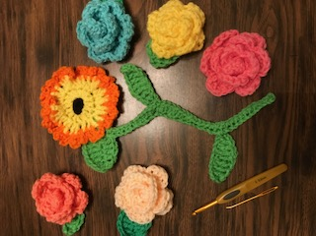 May Roses, Sunflower/Black Eyed Susan