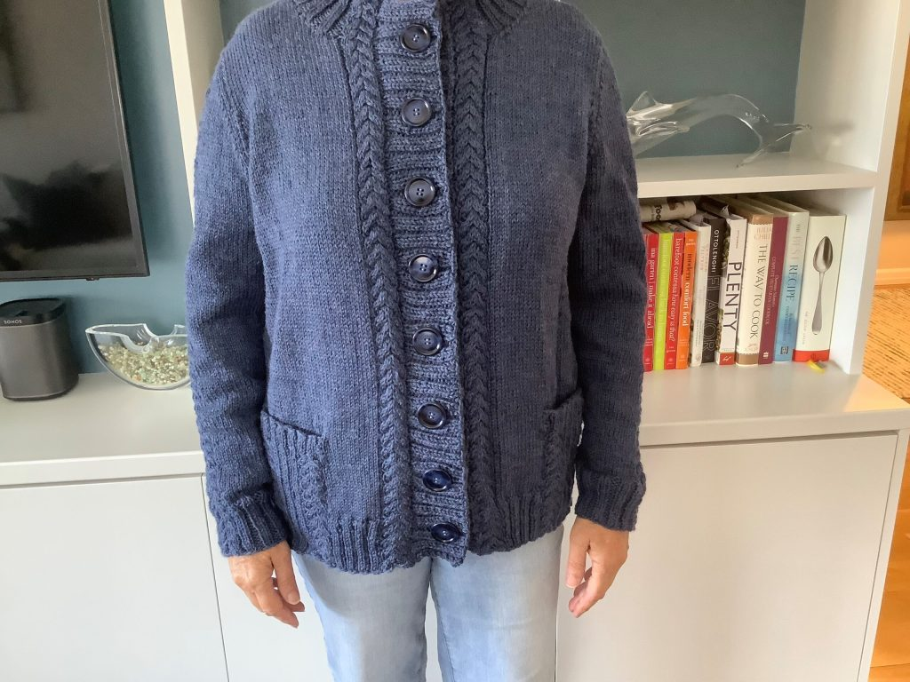 Darby Cardigan Show and Tell Sep 2021