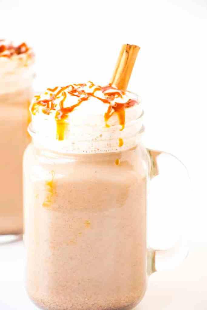 Caramel Pumpkin Spice Latte
